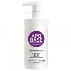 APOBASE CARBAMIDE 5 % EMULSIOVOIDE PUMPPUPULLO 440 G